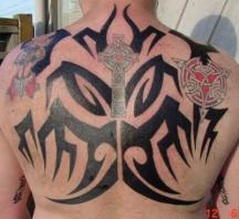 irish tribal tattoo