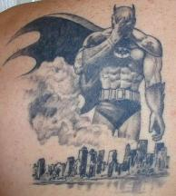 batman toon tattoo